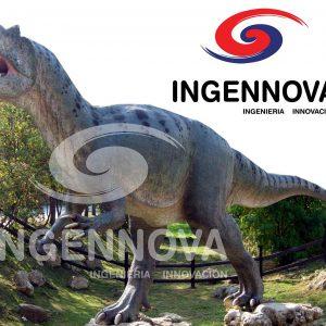 Allosaurio - Dinosaurio Robot Animatrónico