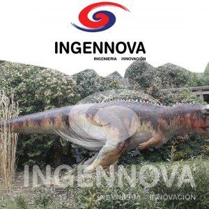 Ingennova Dinosaurio-Robot Animatrónico Carnotaruro