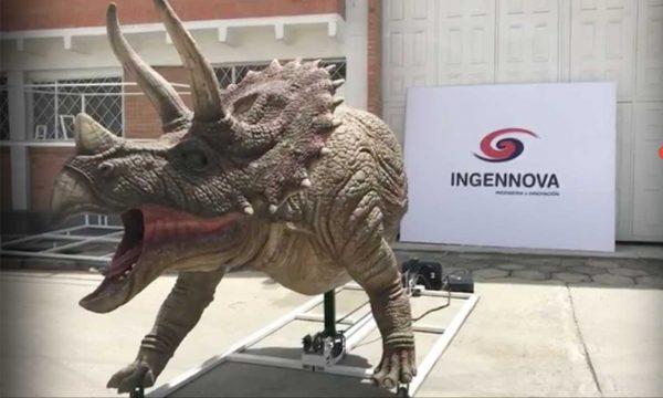 Triceratops - Dinosaurio Robot Animatrónico