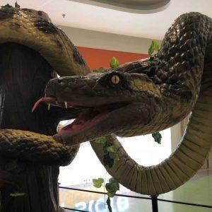 Anaconda Animales Animatrónicos Robots