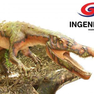 Baryonyx Dinosaurio Robot Animatronico