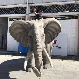 Elefante Animales Animatrónicos Robots