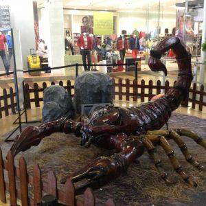 Escorpión Insectos Animatrónicos Robots
