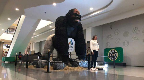 Gorila Animales Animatrónicos Robots
