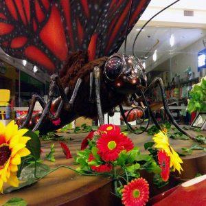 Mariposa Insectos Animatrónicos Robots