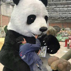 Oso Panda Animales Animatrónicos Robots