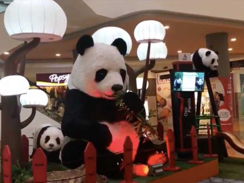 Panda Bear Animal Animatronic Robot 4