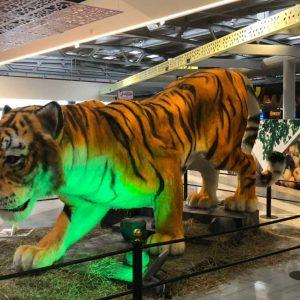 Tigre Animales Animatrónicos Robots
