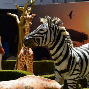 Zebra Animales Animatrónicos Robots