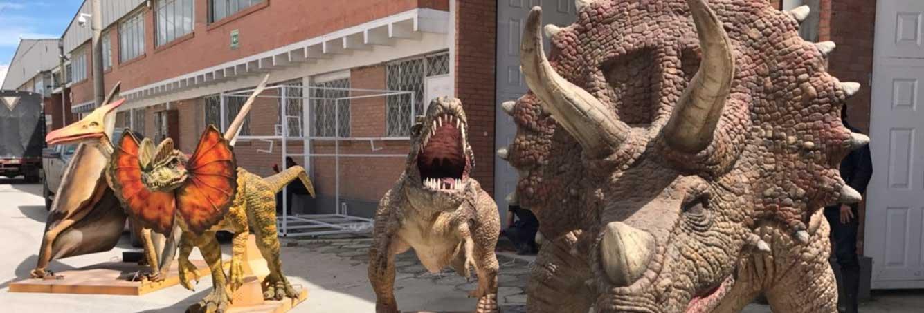 Ingennova banner dinosaurios animatronicos
