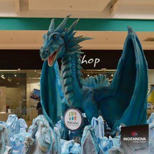 Animatronic Ice Dragon