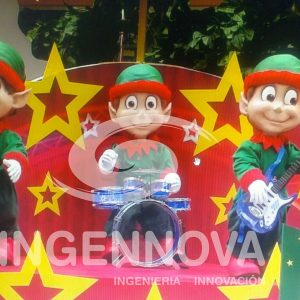 Interactive Animatronic Christmas Elves