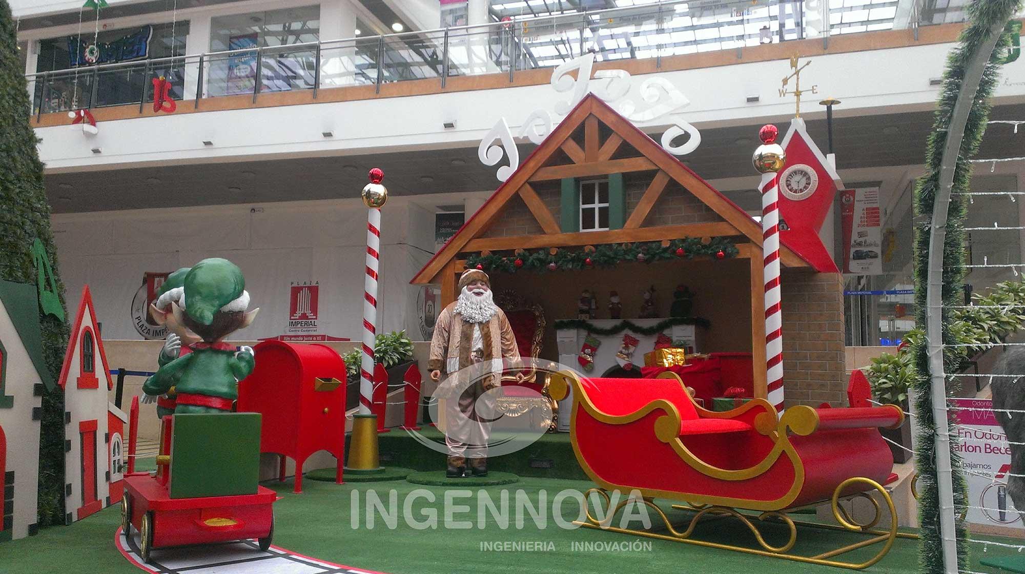 Santa Claus o Papá Noel Animatrónico