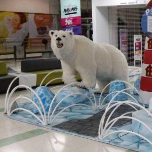 Oso Polar Animatrónico