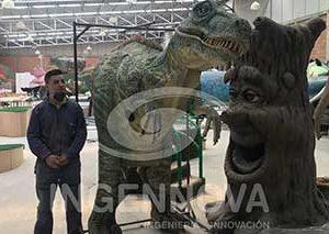 Disfraz de Dinosaurio Animatrónico