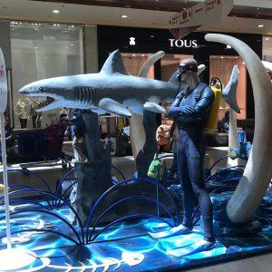 Tiburón Animatrónico