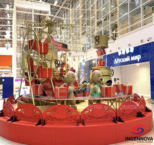 """""""Fábrica de deseos"""" una Exhibición Navideña Colombiana en Rusia"""
